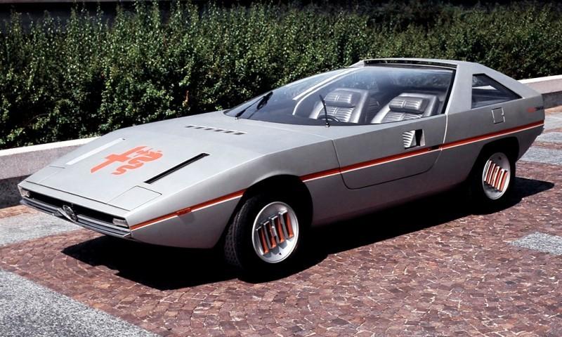 1971 Alfa-Romeo Caimano Concept 5