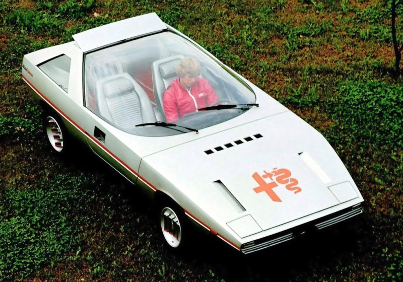 1971 Alfa-Romeo Caimano Concept 6