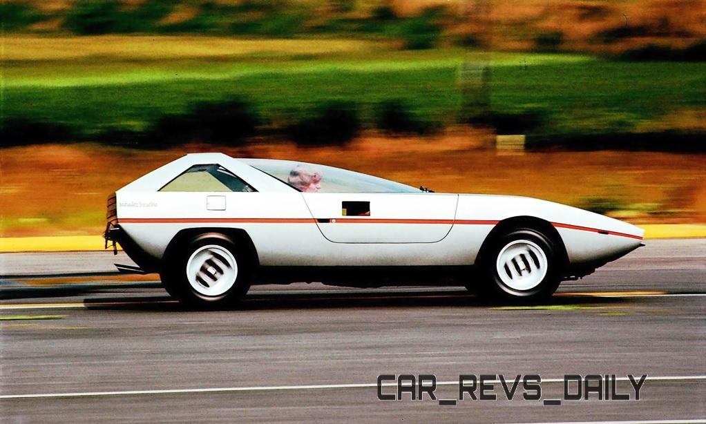 1971 Alfa-Romeo Caimano Concept 8
