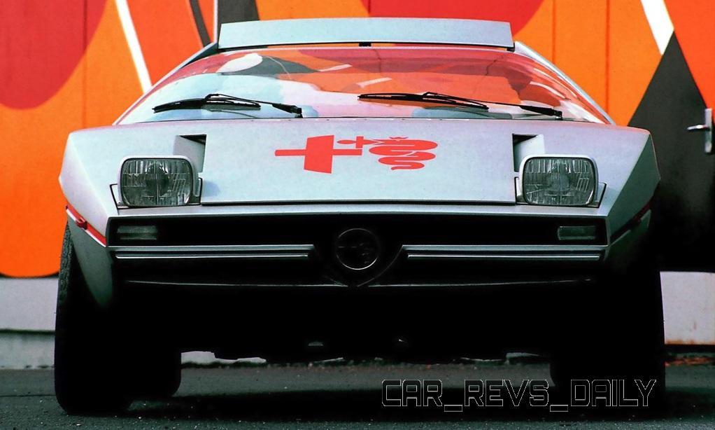 1971 Alfa-Romeo Caimano Concept 9