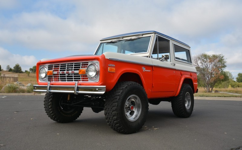 1971 Ford Bronco Stroppe Baja Edition 14