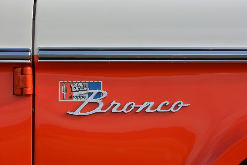 1971 Ford Bronco Stroppe Baja Edition 2