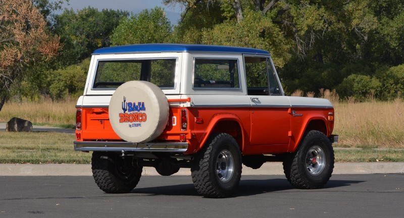 1971 Ford Bronco Stroppe Baja Edition 25
