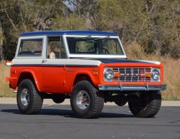 1971 Ford Bronco Stroppe Baja Edition Is Retro Delight; Sharp Bumps And All!