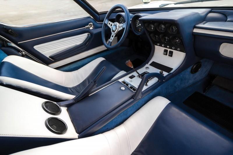 1971 Lamborghini Miura LP400 S by Bertone 12