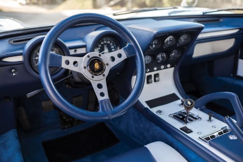 1971 Lamborghini Miura LP400 S by Bertone 13