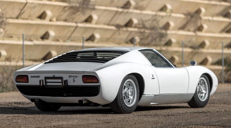 1971 Lamborghini Miura LP400 S by Bertone 2