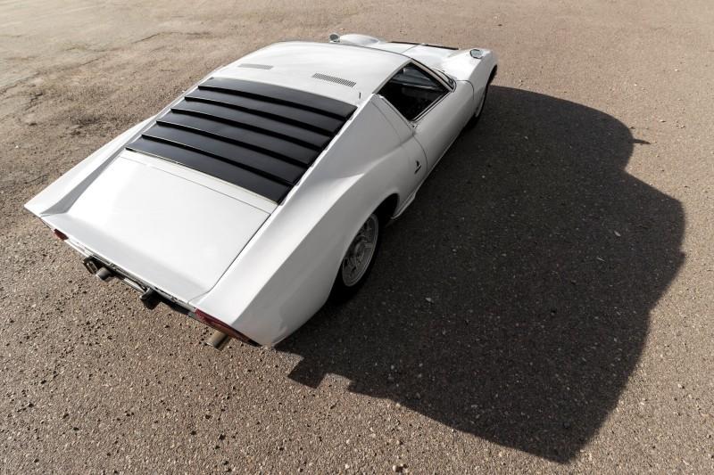 1971 Lamborghini Miura LP400 S by Bertone 20