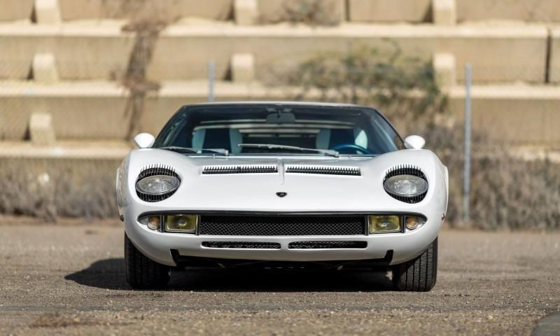 1971 Lamborghini Miura LP400 S by Bertone 24