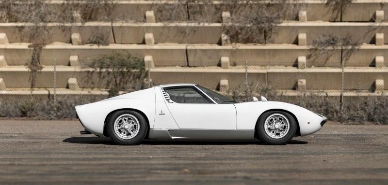 1971 Lamborghini Miura LP400 S by Bertone 5