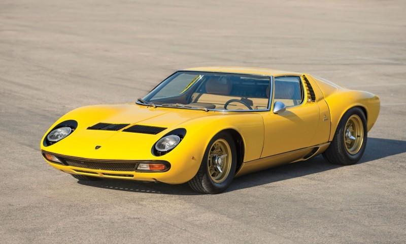 1971 Lamborghini Miura P400 SV 1