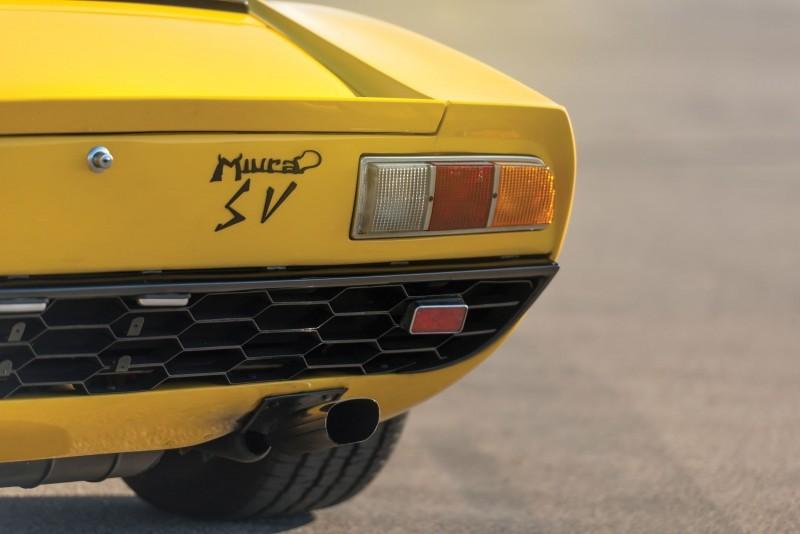 1971 Lamborghini Miura P400 SV 11