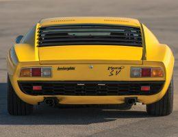 RM Arizona 2016 – 1971 Lamborghini Miura P400 SV