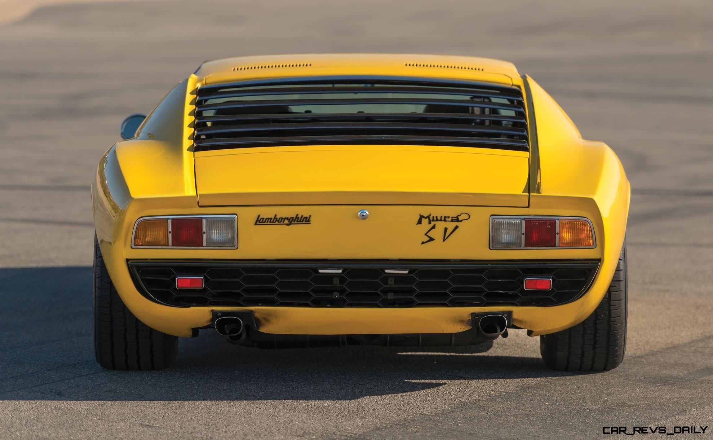 Rm Arizona 2016 1971 Lamborghini Miura P400 Sv