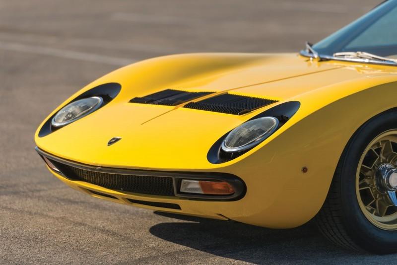 1971 Lamborghini Miura P400 SV 19