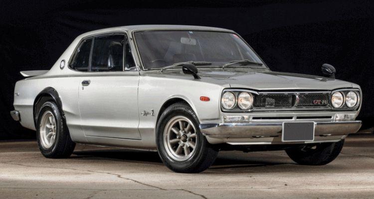 1972 Skyline GT-R RM Auctions GIF