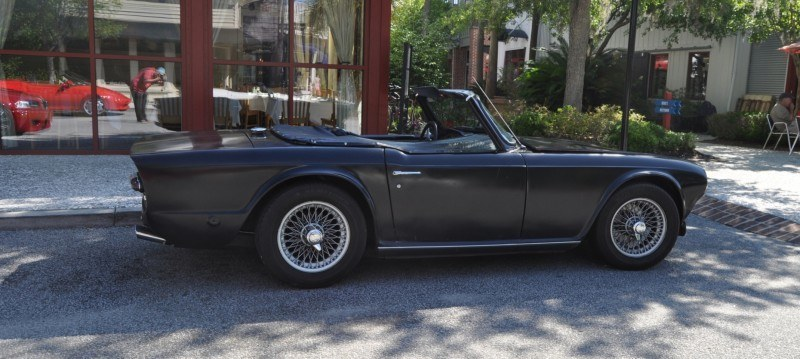 1974 Triumph TR6 Is Track-Prepped and Rally-Ready in Flat Black 10