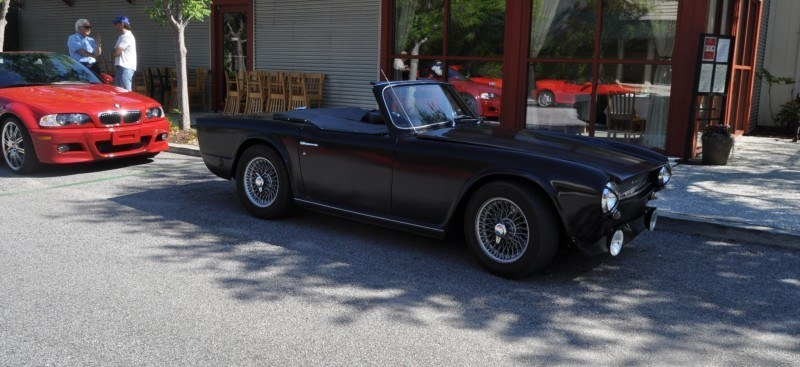 1974 Triumph TR6 Is Track-Prepped and Rally-Ready in Flat Black 12
