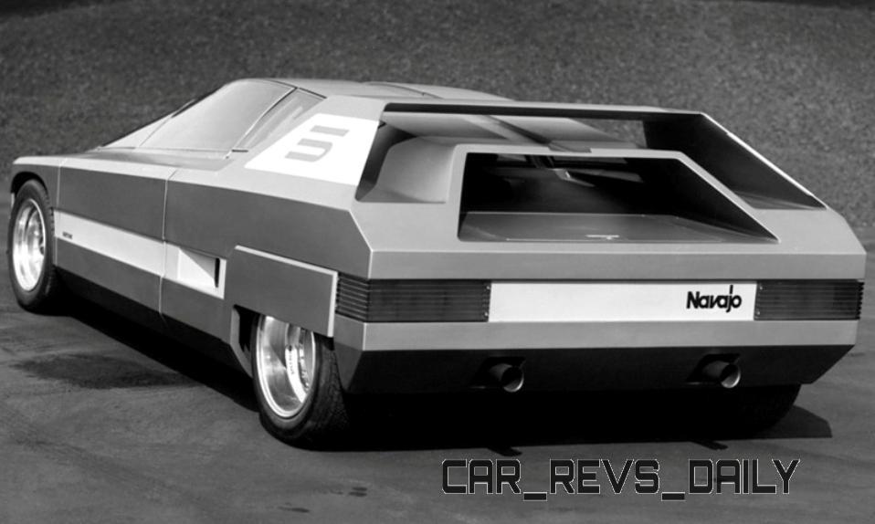 1976 Alfa-Romeo NAVAJO Concept 9