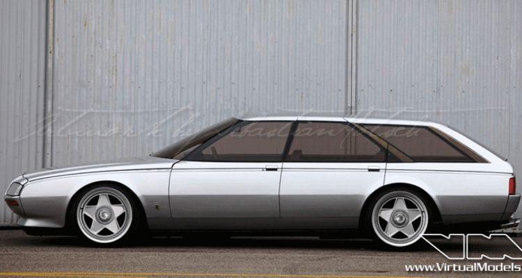 1980 Ferrari Pinin wagon VM custom gif