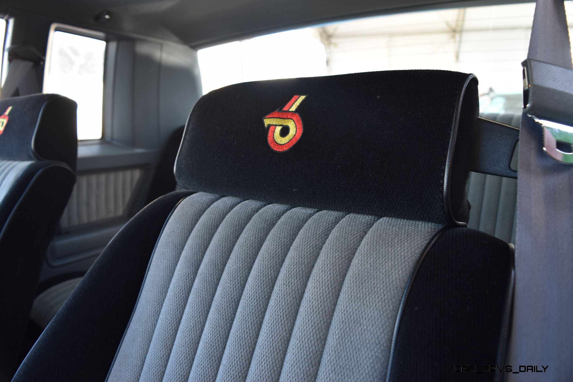 Buick Gnx Interior