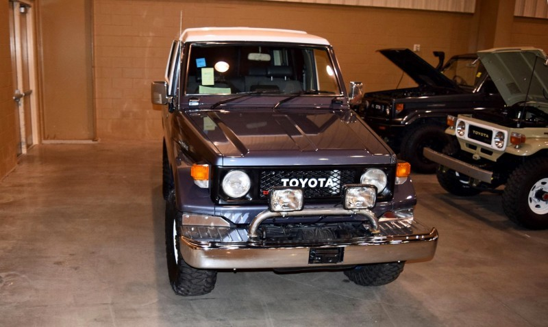 1987 Toyota BJ-74 Land Cruiser RHD TURBO Automatic with White FRP TOP 6