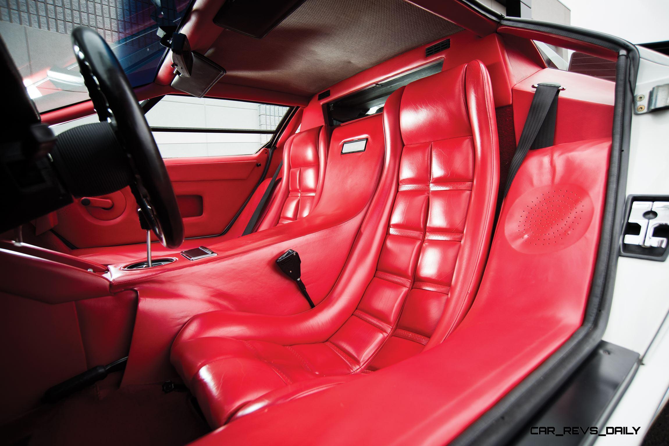 1988.5-Lamborghini-Countach-5000-QV-in-Bianco-White-27 Extraordinary Lamborghini Countach 5000 Quattrovalvole Specs Cars Trend
