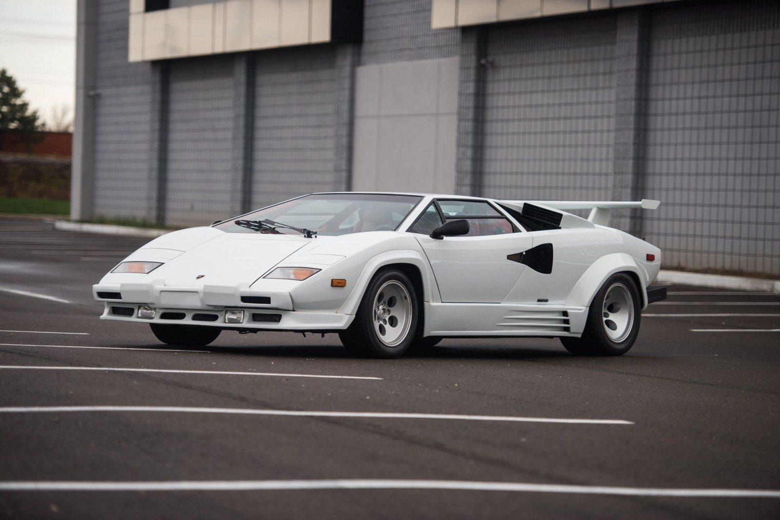 1988 5 Lamborghini Countach 5000 Qv In Bianco White Is As New Just