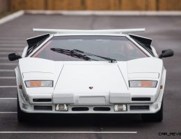 1988.5 Lamborghini Countach 5000 QV in Bianco White is AS_NEW!  Just 8k Miles