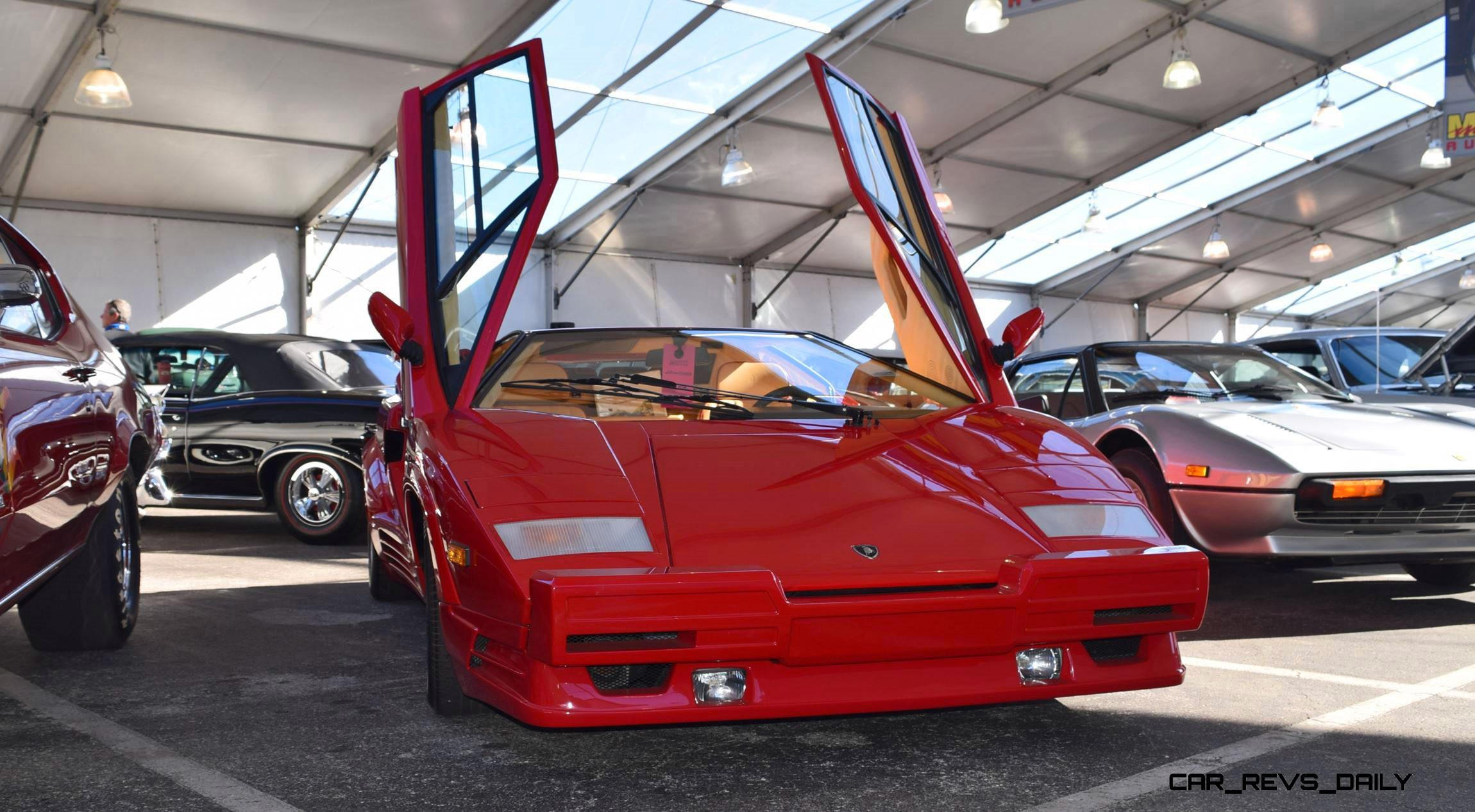 455hp 1989 Lamborghini Countach 25th Anniversary Edition