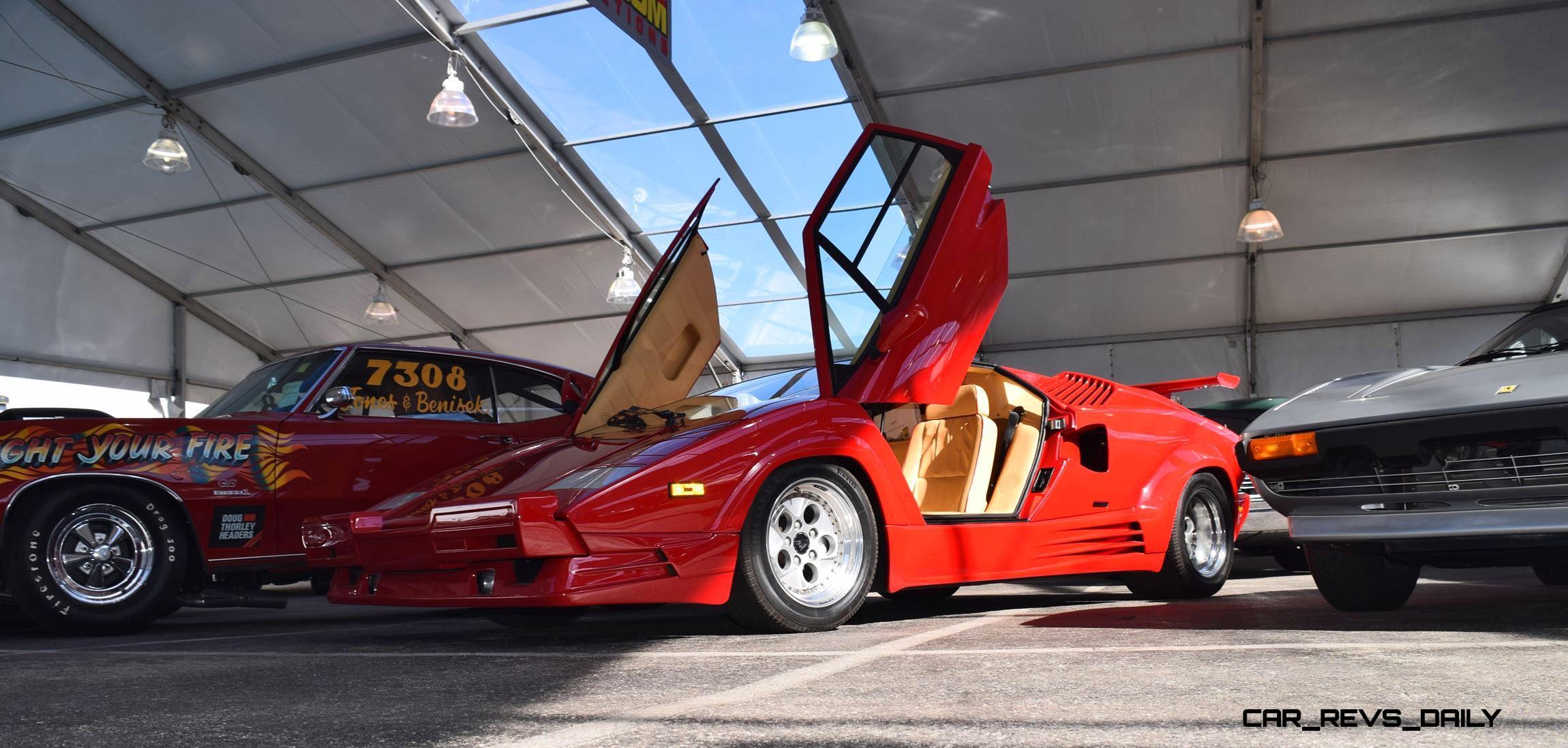 1989 Lamborghini Countach 25th Anniversary Edition 17