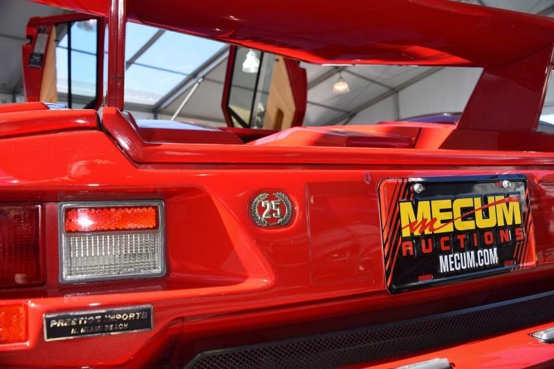 1989 Lamborghini COUNTACH 25th Anniversary Edition 27