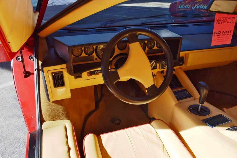 1989 Lamborghini COUNTACH 25th Anniversary Edition 3