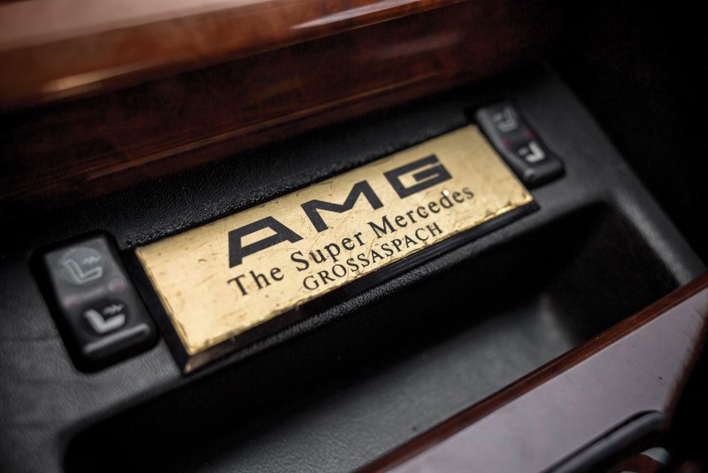 1989 Mercedes-Benz 560SEC 6.0 AMG Widebody 12
