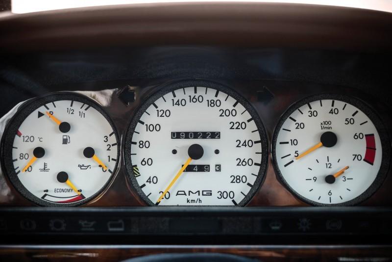 1989 Mercedes-Benz 560SEC 6.0 AMG Widebody 14