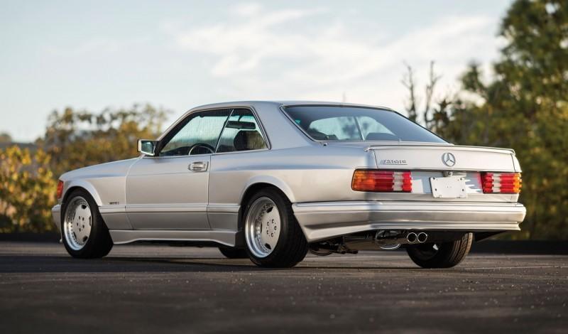 1989 Mercedes-Benz 560SEC 6.0 AMG Widebody 2