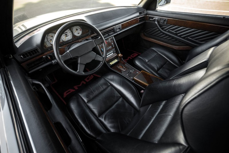1989 Mercedes-Benz 560SEC 6.0 AMG Widebody 4