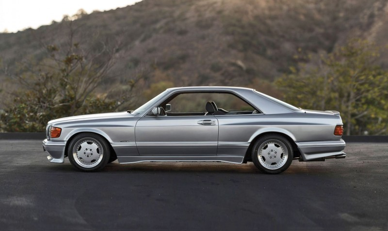 1989 Mercedes-Benz 560SEC 6.0 AMG Widebody 5