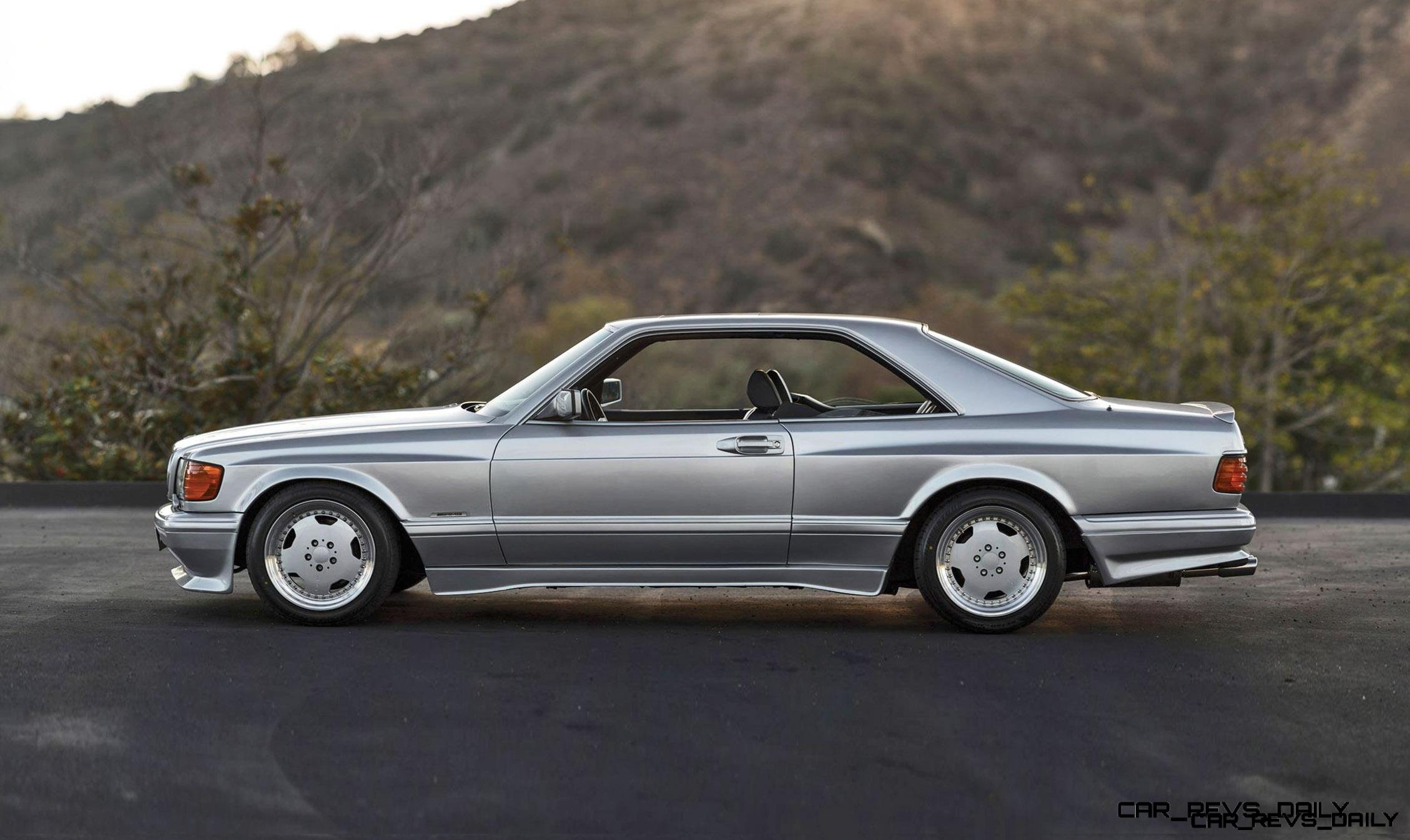 1989 Mercedes Benz 560sec 6 0 Amg Widebody Looks Ready For One Way Back To Affalterbach