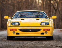 1995 Ferrari F512 Modificata – Last Flat-12 Fezza Updated Testarossa Details for 1990s