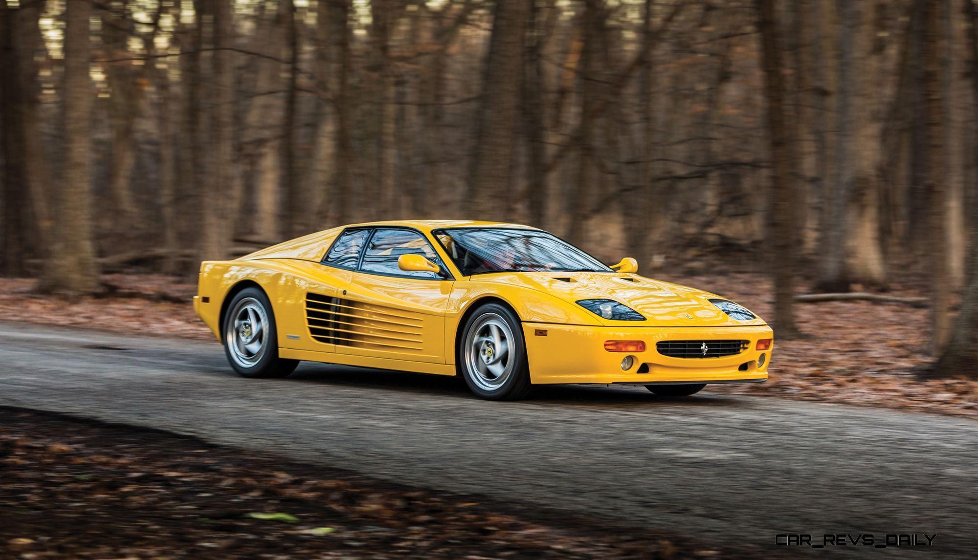 How To Flip Cars >> 1995 Ferrari F512 Modificata - Last Flat-12 Fezza Updated Testarossa Details for 1990s