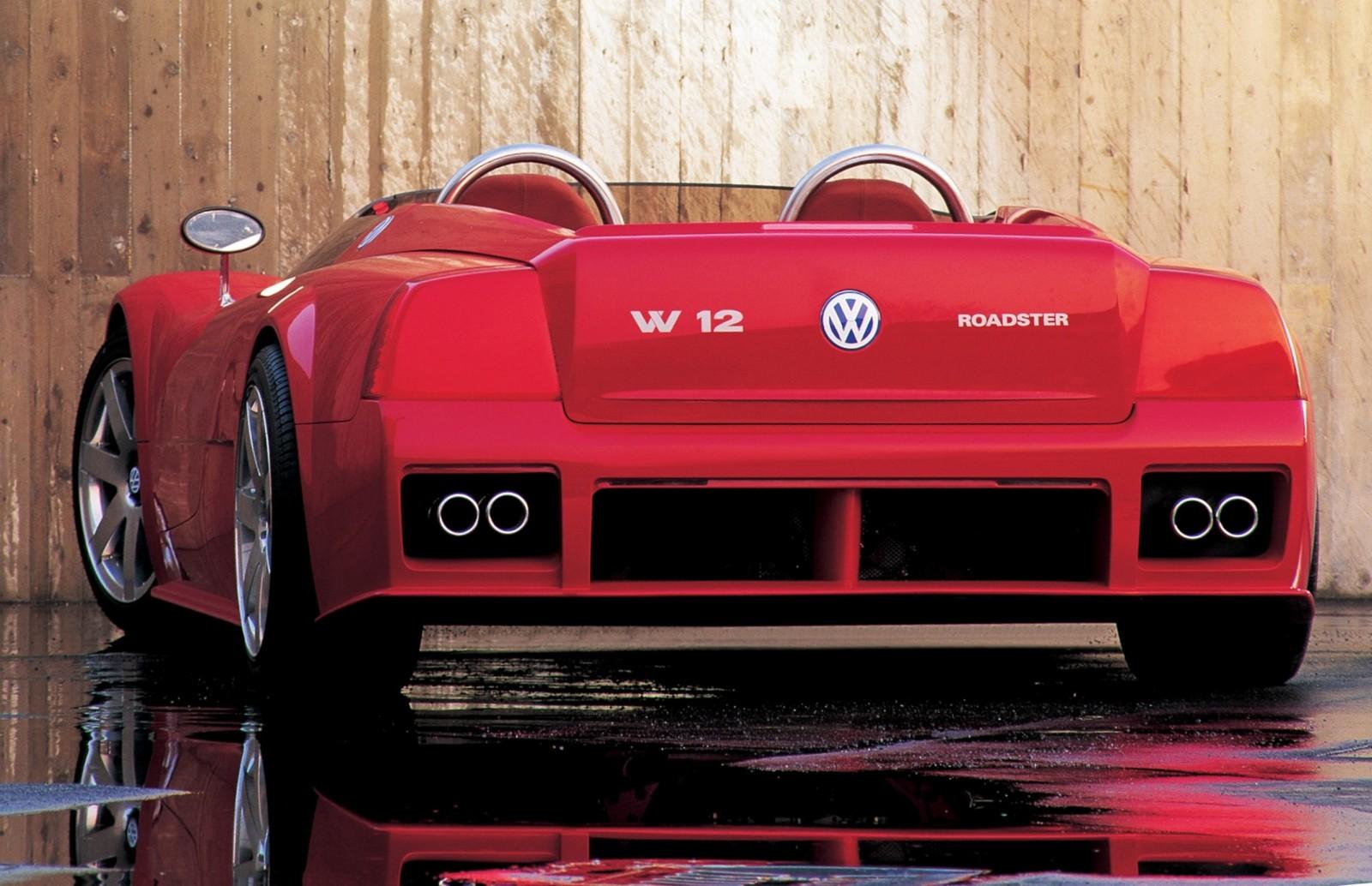 1998 Volkswagen W12 Roadster 19
