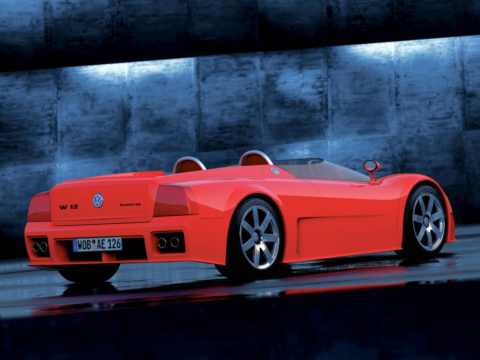 1998 Volkswagen W12 Roadster 27