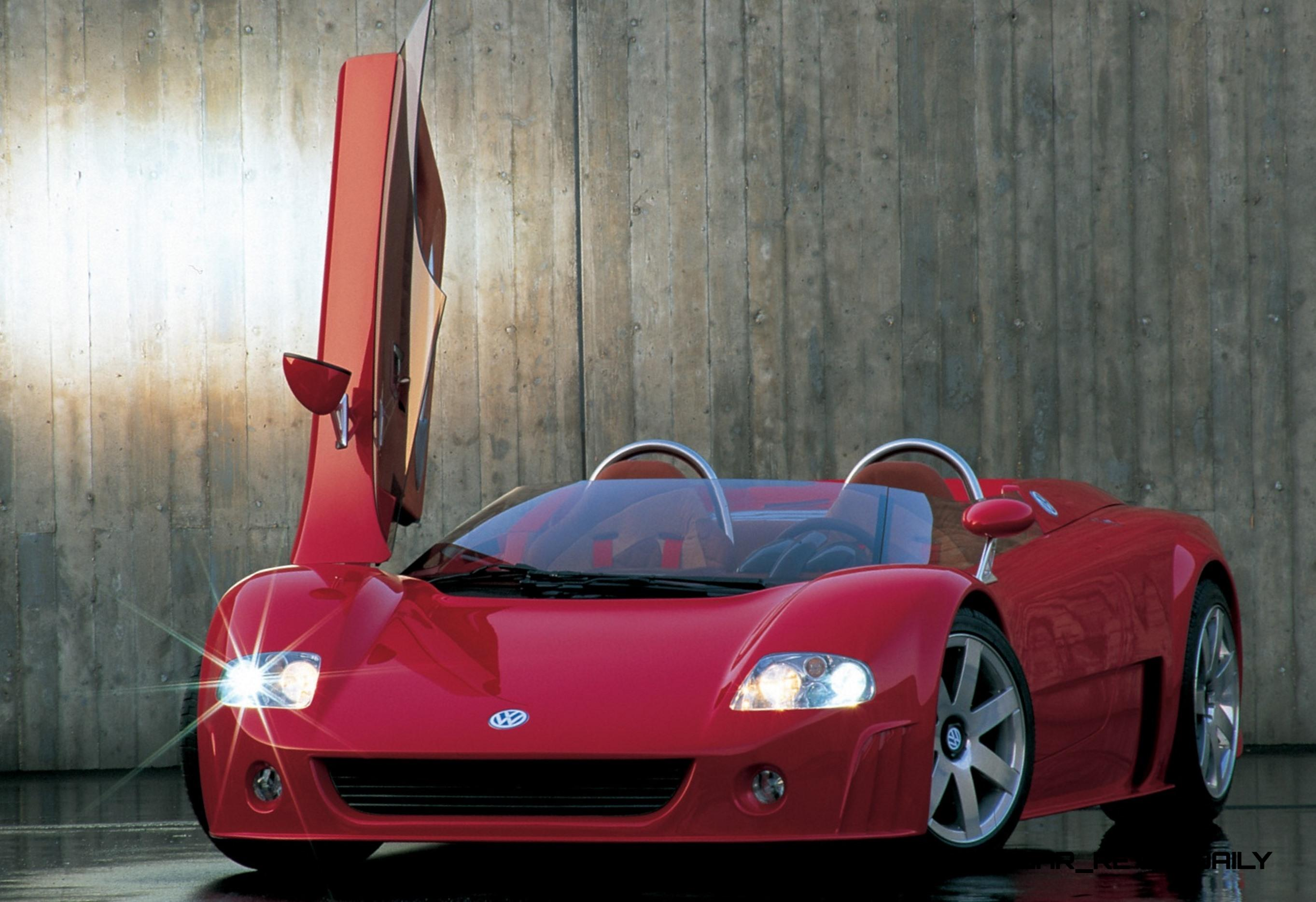 1998 Volkswagen W12 Roadster Is Best of Group Hypercar R&D Exercise