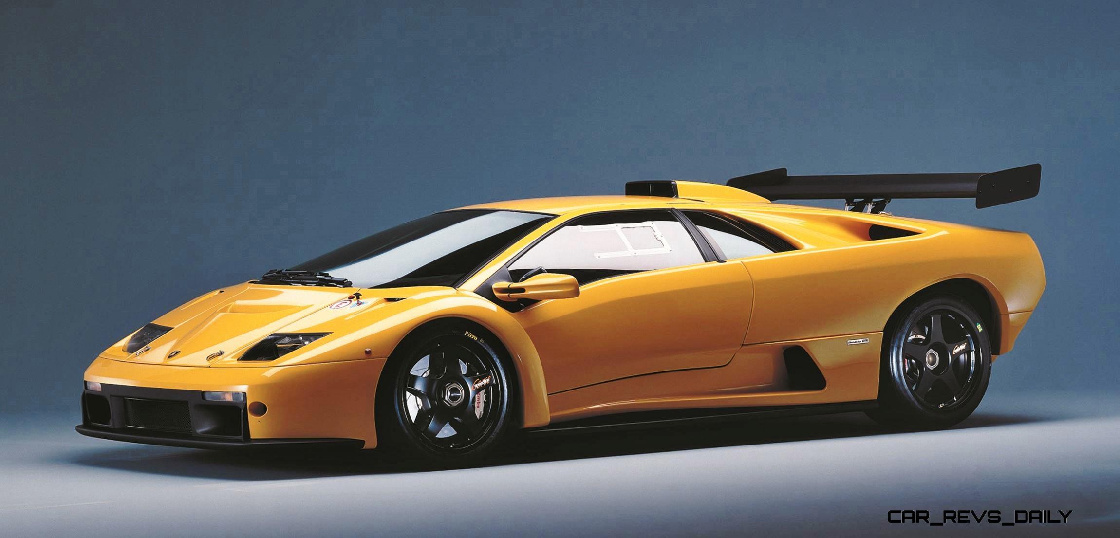 Hypercar Heroes Lamborghini Diablo Evolution Vt To Se Jota To Sv Svr And Roadster Then