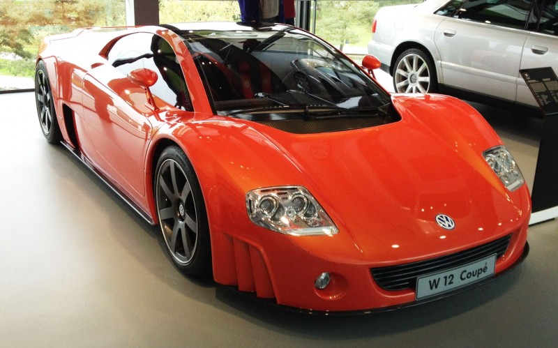 2001 Volkswagen W12 Coupe Concept Introduces Huge Engine and Hypercar Performance to VW Lore 1