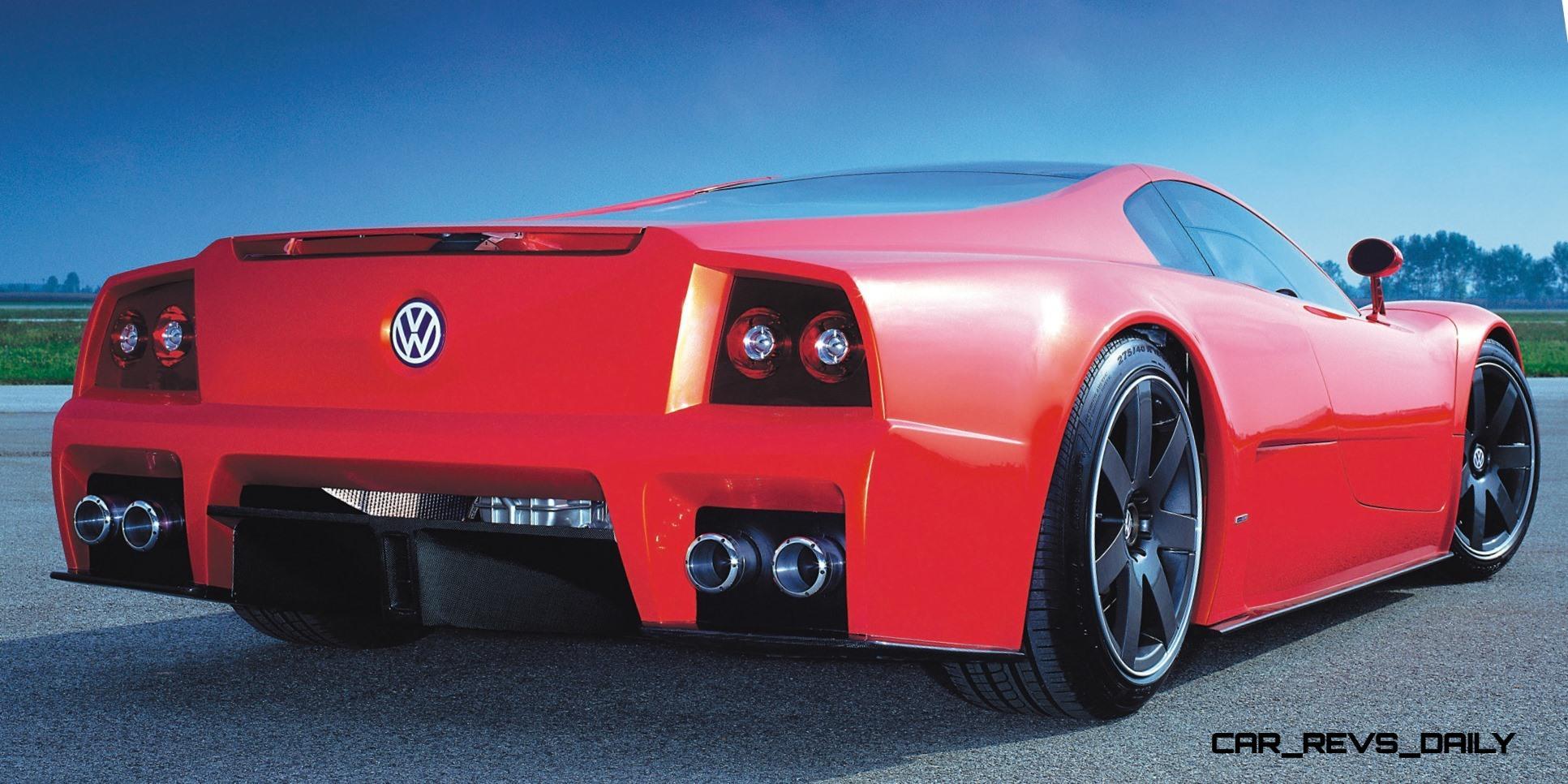 volkswagen  nardo coupe concept slams mph vmax