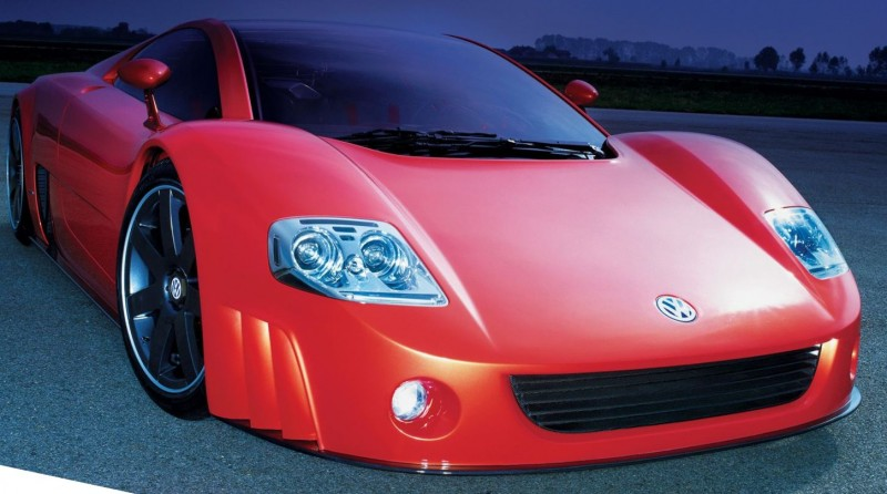 2001 Volkswagen W12 Coupe Concept Introduces Huge Engine and Hypercar Performance to VW Lore 3