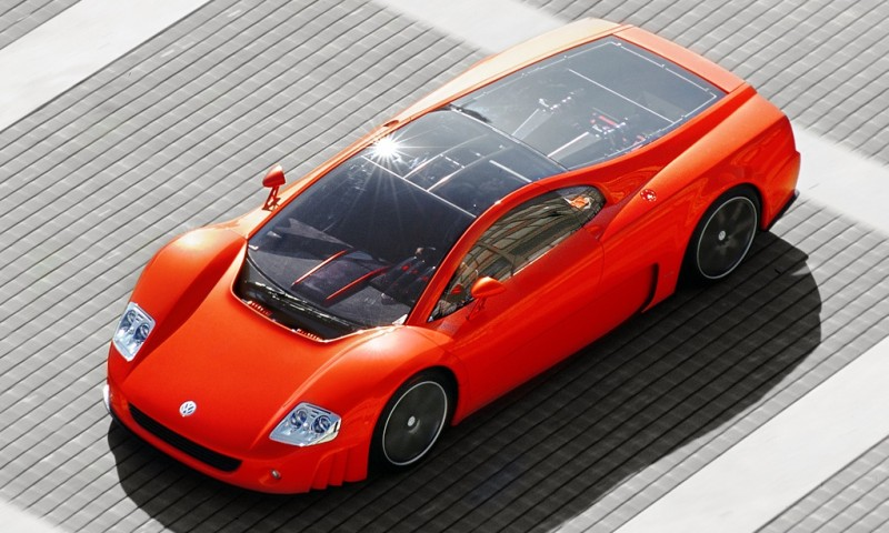 2001 Volkswagen W12 Coupe Concept Introduces Huge Engine and Hypercar Performance to VW Lore 6