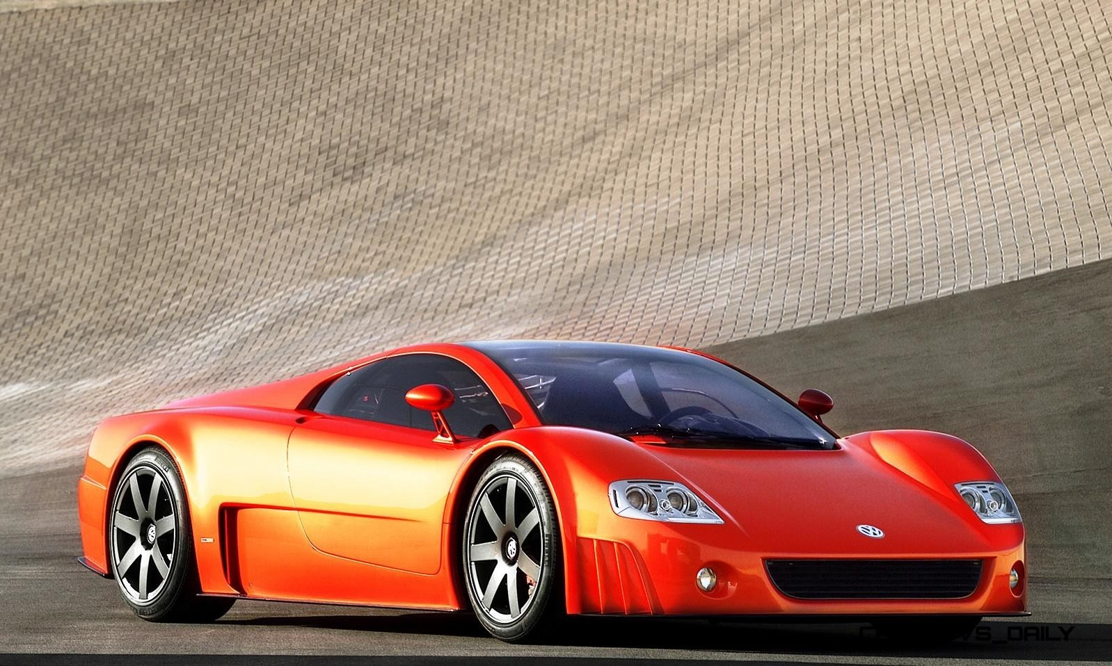 2001 Volkswagen W12 Coupe Concept Introduces Huge Engine and Hypercar Performance to VW Lore 7